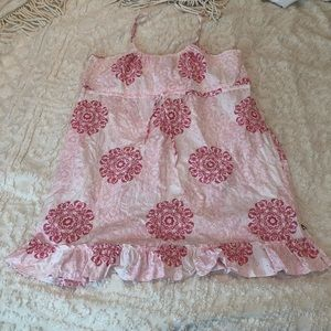 Tommy Sun Dress Cover Up Eyelet